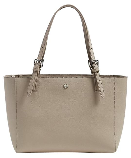 Item - 'small York' Buckle French Grey Saffiano Leather Tote