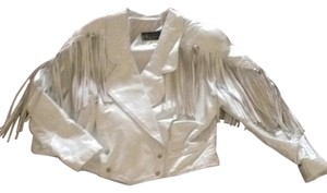 Other White Leather Jacket