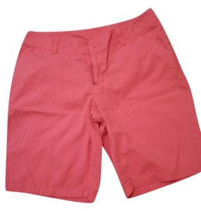 Columbia Walking Or Hiking Bermuda Shorts Coral red