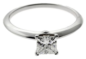Tiffany & Co. Tiffany & Co Princess Cut Diamond Engagement Ring