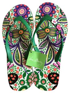 Vera Bradley Multicolor Sandals