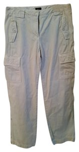 J.Crew Comfortable Casual Khaki/Chino Pants White Khaki
