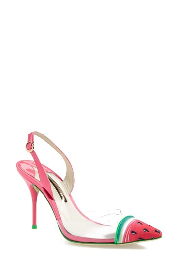 Sophia Webster Clear/Pink Pumps Image 1