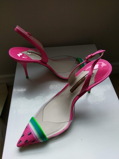 Sophia Webster Clear/Pink Pumps Image 5