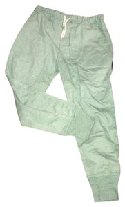 BDG Cotton Casual Athletic Pants Green