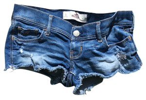 Hollister Mini/Short Shorts Blue Jean