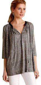 Anthropologie Runs Very Large Top Grey