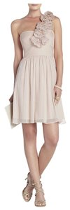 BCBGMAXAZRIA Chiffon Asymmetrical Dress