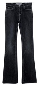 J Brand Low-rise Boot Cut Jeans-Dark Rinse
