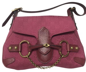 Gucci Satchel in Dark Pink