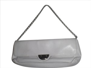 Mango Mng Shoulder Evening white Clutch