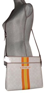Coach Signature New With Tags Cross Body Bag