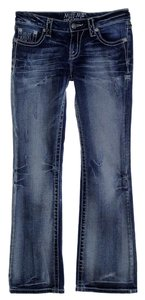 Miss Me Low-rise Boot Cut Jeans-Distressed