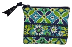 Vera Bradley VERA BRADLEY * Daisy Daisy * Cotton Zip Coin Purse Small Pouch
