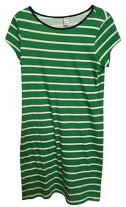 Old Navy short dress Green & white on Tradesy