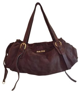 Miu Miu Tote in Warm Brown