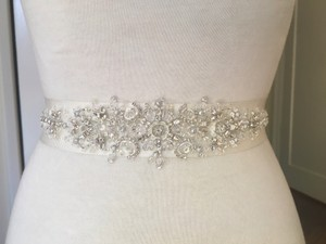 Swarovski Crystal And Beaded Belt