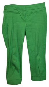 New York & Company Capris Green