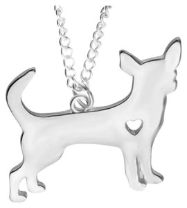 Other New Gold or Silver Chihuahua Pendant Necklace