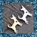 Other New Gold or Silver Chihuahua Pendant Necklace Image 1