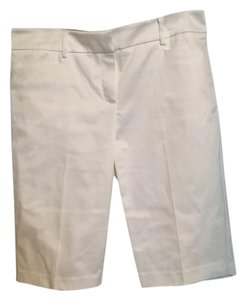 New York & Company Bermuda Shorts White
