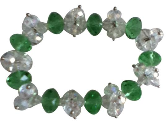 Preload https://item3.tradesy.com/images/green-and-clear-crystal-bracelet-17947-0-0.jpg?width=440&height=440