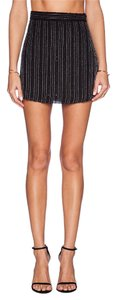 MLV Beaded Embellished Mini Mini Skirt Black
