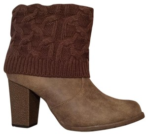 Muk Luks Light Brown Boots