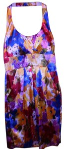 Bisou Bisou Bright Colorful Evening Dress
