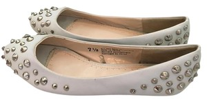 BDG Urban Outfitters Studded White Flats
