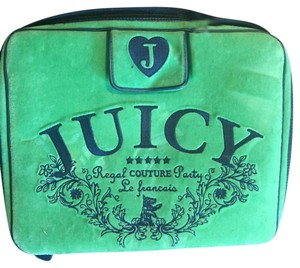 Juicy Couture Vintage Leather Velvet Laptop Bag