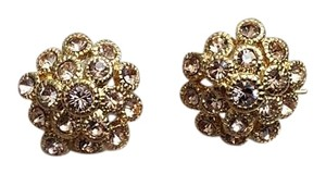 Banana Republic Banana Republic Sparkle Gold Cluster Earrings