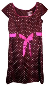 Sheri Martin Ribbon Pink Dress