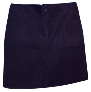Etcetera Rocker Chic Goth Mini Skirt Black