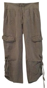 XCVI Comfortable Soft Casual Cargo Pants Olive Green
