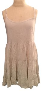 American Eagle Outfitters short dress Cream Viscose Summer Spring on Tradesy