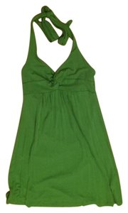 Bebe Sport Green Halter Top