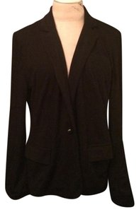 Forever 21 Cotton Casual Fall Winter Black Blazer