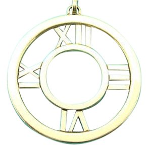 Tiffany & Co. TIFFANY 18 KT GOLD LARGE ATLAS PENDANT!