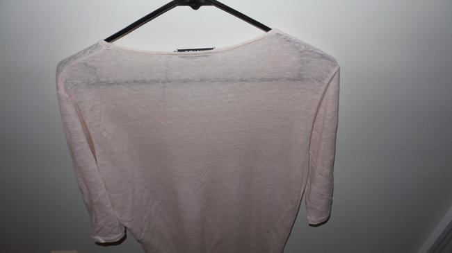 Allude Soft Casual T Shirt Light Pink Image 2