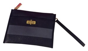 Tommy Hilfiger Flat Wristlet in Black and grey