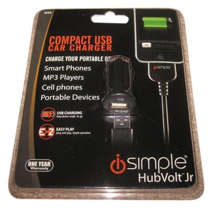 ISIMPLE ISIMPLE IS45 HUBVOLT JR COMPACT USB CAR CHARGER FOR ANY DEVICE