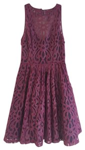 Tracy Reese Vintage Lace Fit To Flare Dress