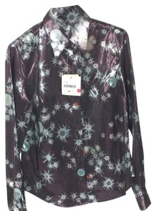 Moschino Top Black and Purple
