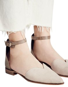Free People Taupe Flats