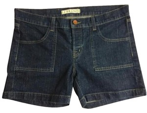 J Brand Denim Mini/Short Shorts Blue
