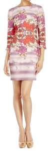 Badley Mischka short dress Purple Mulit-Color on Tradesy