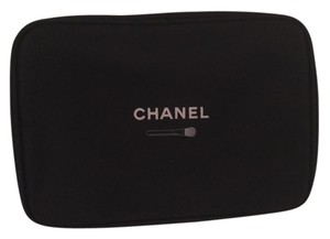 Chanel Makeup Cosmetic Beaute black Clutch