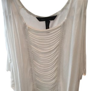 BCBGMAXAZRIA Beach Top White
