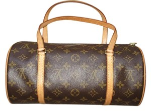 Louis Vuitton Papillon 30 Satchel in Monogram